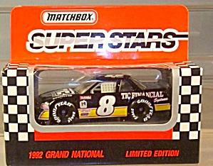 #8 Jeff Burton Tic Financial Match Box Super Stars Race Car