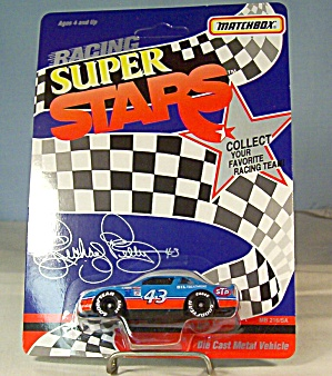 #43 Richard Petty Stp Match Box Super Stars Race Car
