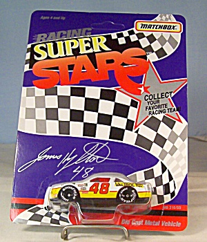 #48 James Hylton Match Box Super Stars Race Car