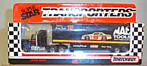 #10 Ernie Irvan Mac Tools Matchbox Super Star Transporter