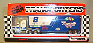 #8 Sterling Marlin Raybestos Matchbox Super Star Transporter