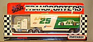 #25 Ken Schrader Matchbox Super Star Transporter