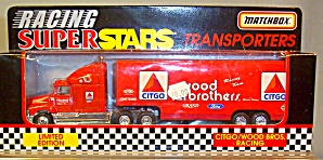 Citgo/wood Bros.racing Matchbox Super Star Transporter
