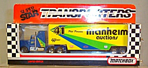 # 41 Phil Parsons Manheim Auctions Matchbox Super Star Transporter