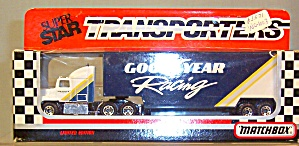 Goodyear Racing Matchbox Super Star Transporter