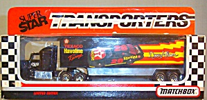 #28 Davey Allison Texaco Havoline Matchbox Super Star Transporter