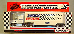 Snickers Racing Team Matchbox 1:64 Diecast