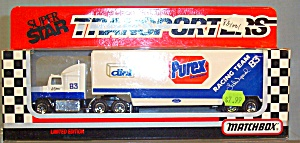 # 83 Lake Speed Purex Matchbox Super Star Transpotrers