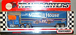 #22 Bobby Labonte Maxwell House Matchbox Super Star Transporter