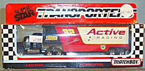 #32 Jimmy Horton Active Racing Matchbox Super Star Transporter