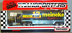 #12 Jimmy Spencer Meineke Racing Matchbox Super Star Transporter