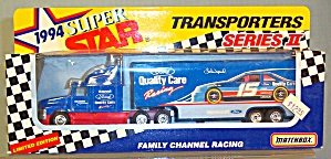 #15 Lake Speed Quality Care Matchbox Super Star Transporter