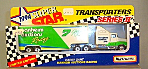 #7 Manheim Auctions Harry Gant Matchbox Diecast