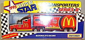 # 94 Bill Elliott Mcdonald's Racing Matchbox Super Star Transpotrers