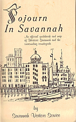 Sojourn In Savannah Official Guidebook 1968 Lp0554