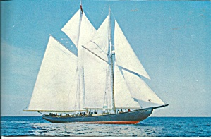 Replica Of Bluenose Ii Postcard Lp0723