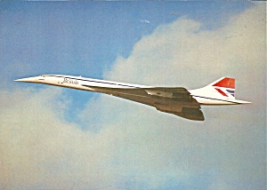 British Airways Concorde In Flight Lp0861