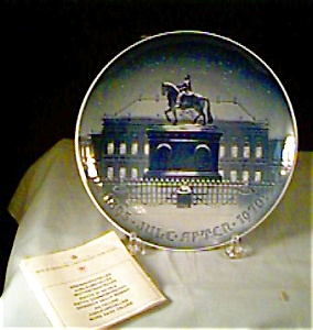 Bing And Grondahl Royal Palace Plate