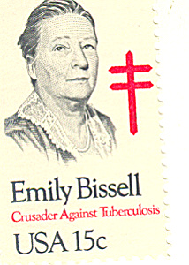 #1823 - 15 Cent Emily Bissel Single Uncirculated