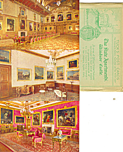 Raphael Tuck Windsor Castle Set Six Cards Rare P21001