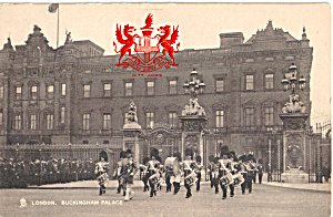 Buckingham Palace London Raphael Tuck Postcard P26921
