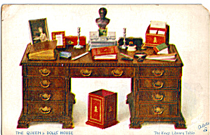 Kings Library Table Postcard Raphael Tuck P28312