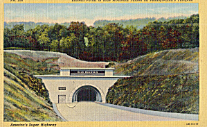 Blue Mountain Tunnel Pa Turnpike P30661