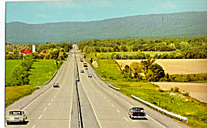 Pa Turnpike 14 Mile Straightaway Carlise To Blue Mountain P30846