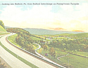 Pennsylvania Turnpike Bedford Interchange P31124