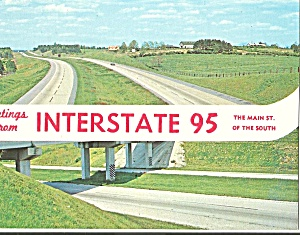 I-95 The Maim St Of The South Postcard P31127