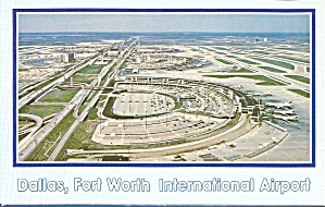 Dallas Fort Worth International Airport P35444