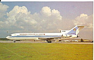 Republic Of Congo 727-2m7 Tn-aeb Postcard P36209
