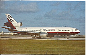 Air Panama Jet 24 Dc-10-40 N133jc Postcard P36342