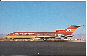 Braniff International 727-227 N447bn Orange Ochre P36404