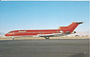 Braniff International 727-227 N478bn Tera Cotta P36405