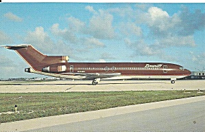 Braniff International 727-227 Chocolate Brown P36456