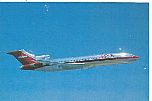 Usair 727-200 Postcard P36551