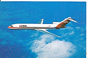 Usair 727-200 Postcard P36555