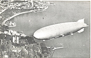 Souvenir Postcard Of Rigid Airship Graf Zepplin Ii P36718