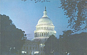 American Airlines Postcard Of Nation S Capitol P36940