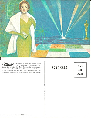 Twa Postcard From Painting By Marie Zamparelli P36982