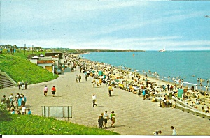 Whitley Bay Uk Promenade Beach Panama Gap P37592