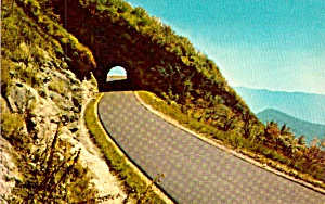 Blue Ridge Parkway Nc Craggy Mountain Tunnel P37975