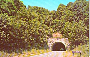Little Switzerland Tunnel Blue Ridge Parkway Nc P38136