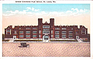 St Louis Mo Grover Cleveland High School P38432