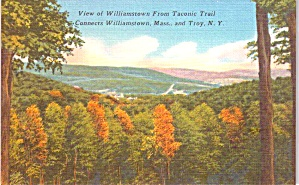 Williamstown Ma View From Taconic Trail P38568