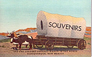 Albuquerque Nm World S Largest Covered Wagon P38582
