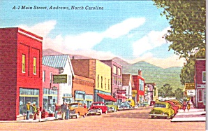 Andrews Nc Main Street P38595