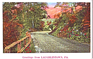 Greetings From Laughlintown Pa P38604