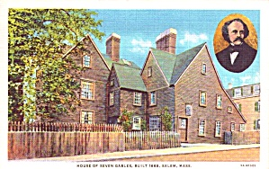 Salem Ma House Of Seven Gables P38611